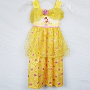Disney Princess Belle Nightgown 4T NEW